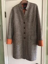 DINOMODA Wool Coat (size: 40)