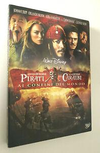 Pirati dei Caraibi ai confini del mondo DVD