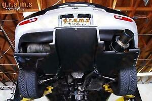 Mazda RX-7 CARBON Rear Diffuser + Brackets Included, Top Secret Style v8