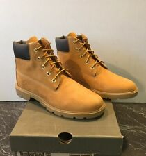 TIMBERLAND 6 INCH CLASSIC WHEAT LEATHER BOOTS BIG KIDS US SIZE 6.5 TB010960