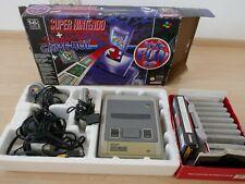 Super Nintendo Entertainment System (1993) Konsole + 10 Spiele (ohne Aufsatz)