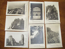 Montserrat Spain Espana Lot of 33 Vintage Real Photo Postcards RPPCs