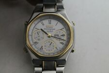 Vintage Man SEIKO quartz  chronograph SQ100 7A38-6080 ,15J