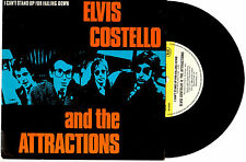 """ELVIS COSTELLO - I CAN'T STAND UP FOR FALLING DOWN - 7"""" 45 RECORD PIC SLV 1980"""