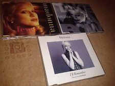 MADONNA 3 x  CD SINGLES