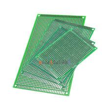 4PCS Double Side Prototype PCB Tinned breadBoard Each 1PCS 6x8 7x9 8x12 9x15CM