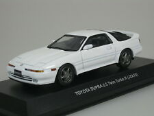 TOYOTA SUPRA 2.5 Twin Turbo R JZA70 1990-1993 BLANCO 1/43 Kyosho 03708w NUEVO