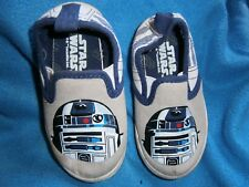 Child/Toddler STAR WARS SLIP ON SNEAKERS  SZ 7 LUCAS FILM  L@@K