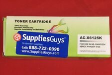 New in Box!  106R01334 Replacement For Xerox Black Toner Phaser 6125 6125N