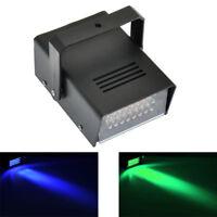 Mini Strobe Light with 24 Super Bright LEDs Mobile DJ Party Disco Light 2 Colors