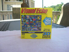 Visual Echo 'Tropical Colors' 3D Lenticular 500 Piece Jigsaw Puzzle~New & Sealed