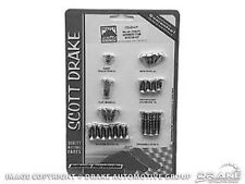 1964 65 66 Mustang Interior Trim Screw Kit COUPE ONLY