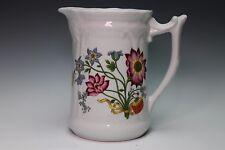 Philippe Deshoulieres Porcelain De Limoges France Pitcher Floral Design