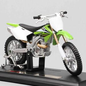 Kawasaki1:18 Kx 250f Kx250 Motocross Motorcycle Diecast Dirt Bike Model Kid Toy