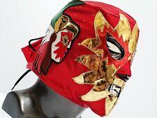 RED SUN MASK WRESTLING MASK LUCHADOR COSTUME WRESTLER LUCHA LIBRE MEXICAN