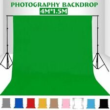 Screen Studio Photo Video Photography Background Kit Stand Backdrop Set Green