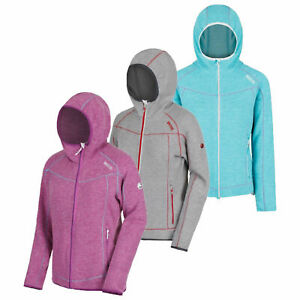 Regatta Luzon Womens Warm Hoodie Hooded Full Zip Fleece Jacket RRP £50