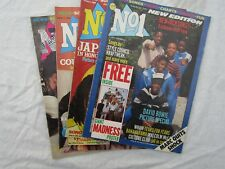 VINTAGE MUSIC MAGAZINE  JOB LOT X4 No1 80's wham japan bowie /madness poster
