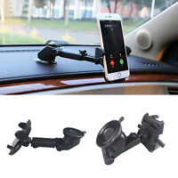 360 Universal Car Windscreen Suction Mount GPS Stand Mobile Phone Holder New UK