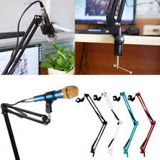 More details for mic microphone suspension boom scissor arm stand shock mount adjustable new