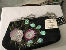 Vintage  Evening Bag, SEQUINS, Beads, NWT