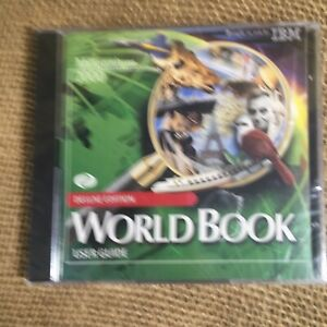 Vtg IBM Millennium 2000 (Deluxe Edition) World Book Users Guide Sealed New 2 CD