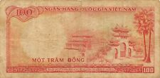New listing Viet Nam 100 Dong Nd. 1966 P 19a Series T 1 Circulated Banknote Jlv3