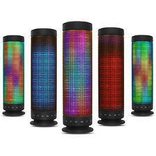 KOCASO® BLUETOOTH WIRELESS SPEAKER WITH LED LIGHTS FOR IPHONE TABLET