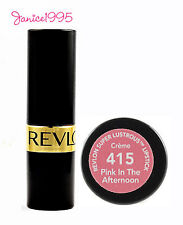 REVLON Super Lustrous Lipstick Creme  #415 PINK IN THE AFTERNOON