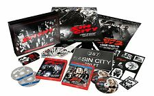 SIN CITY+SIN CITY 2 Ultimate Killer Deluxe Edit. BOX 4 BluRay in Inglese NEW .cp