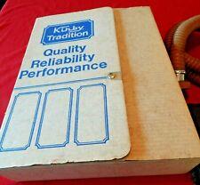 VTG 1951 Kirby Model 511 Vacuum Cleaner Sweeper Accessory Kit in Original Box