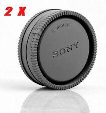 2X Sony Camera Body Cover + Lens Rear Cap for Sony A6500 A6300 A5100 NEX-7 A7RII