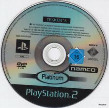 Tekken 5   (PS2 Platinum) Einzelne CD, minimale Gebrauchsspuren