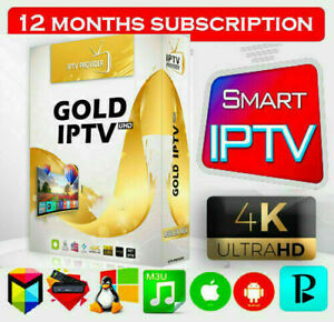 SMART IP**TV PRO 12 MONTHS PLUS ADULTS SUPPORTS M3U,MAG,TV BOX ......