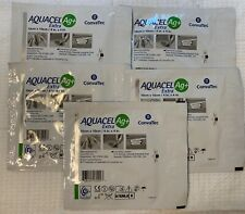 "Aquacel Ag+ Extra Enhanced Hydrofiber 413567 4""x 4"" Pack of 5 Dressings"