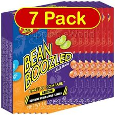 7 Pack BEAN BOOZLED 1.6oz Jelly Belly ~ Weird & Wild Flavors ~ Candy Challange