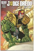 Judge Dredd #1 : March 2013 : IDW Comics