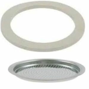 Bialetti Moka Replacement spare part Coffee Maker Seal & Filter 1 2 3 4 6 9 12
