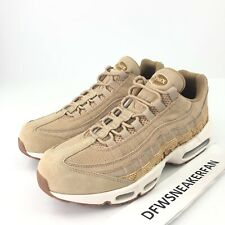 9860698dc4 Nike Air Max 95 Premium SE Men's 12 Vachetta Tan Snake Elemental 924478-201
