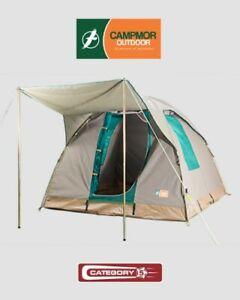 Diamantina Tourer 4 Safari Canvas Tent Camping Touring 4wd Family Outdoor Travel