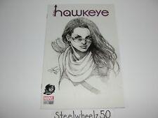 All New Hawkeye #1 Siya Oum Phantom Sketch Variant Comic Marvel 2016 Kate Bishop