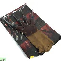 Freddy Krueger Costume Shirt Mask Glove Hat Nightmare On Elm Street Horror