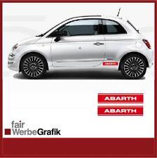 Aufkleber /  Sticker / Dekor / Seitenstreifen /  Abarth / Fiat  / #176