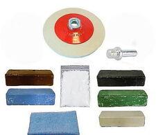 Taladro/Amoladora de Ángulo-Aluminio, Latón, Acero Inoxidable, Metal Pulido Kit
