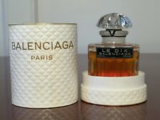 NEW Vintage Balenciaga LE DIX Pure Parfum Extrait 1 oz/30 mL in Presentation Box