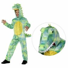 Kids Dinosaur Costume Boys Girls Animal Fancy Dress T-Rex Book Day Week New