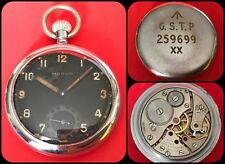MARVIN-Military Pocket Watch-inglese WWII assegnato-G.S.T.P-cal.950-Swiss Made-