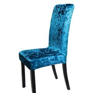 Chair Covers Slipcover Home Crushed Dining Stretchable Protective Decor