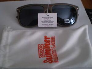 Beer advertising sunglasses  -   XXXX Summer Bright Lager