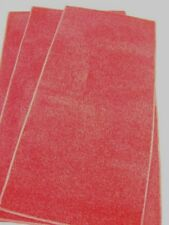 3x RED RUGS/ MATS, IDEAL WEDDING / PARTY GOOD QUALITY BN CLEARANCE SALE #1370